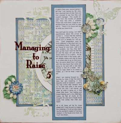 Managing to Raise 5