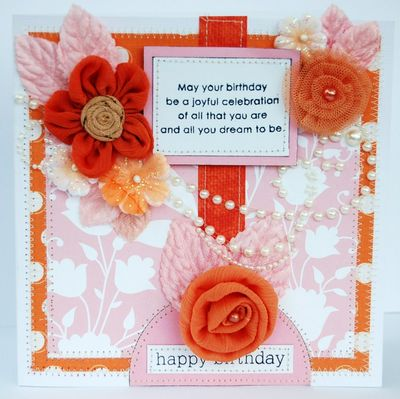 TCR 21 Happy Birthday Card