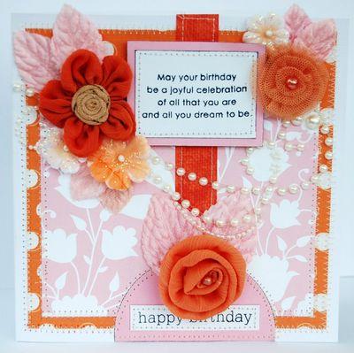 TCR 21 Happy Birthday Card