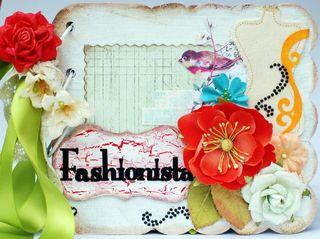 Fashionista Mini Album Cover