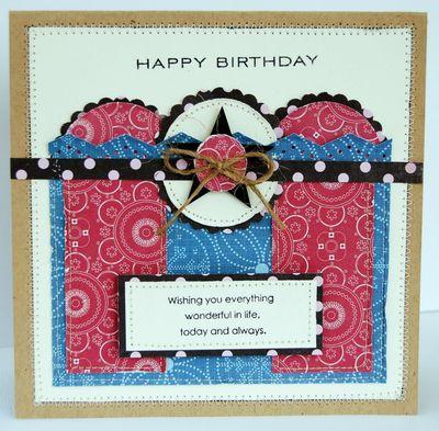 TCR 22 Happy Birthday Card