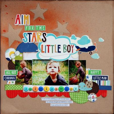 Aim for The Stars Little Boy