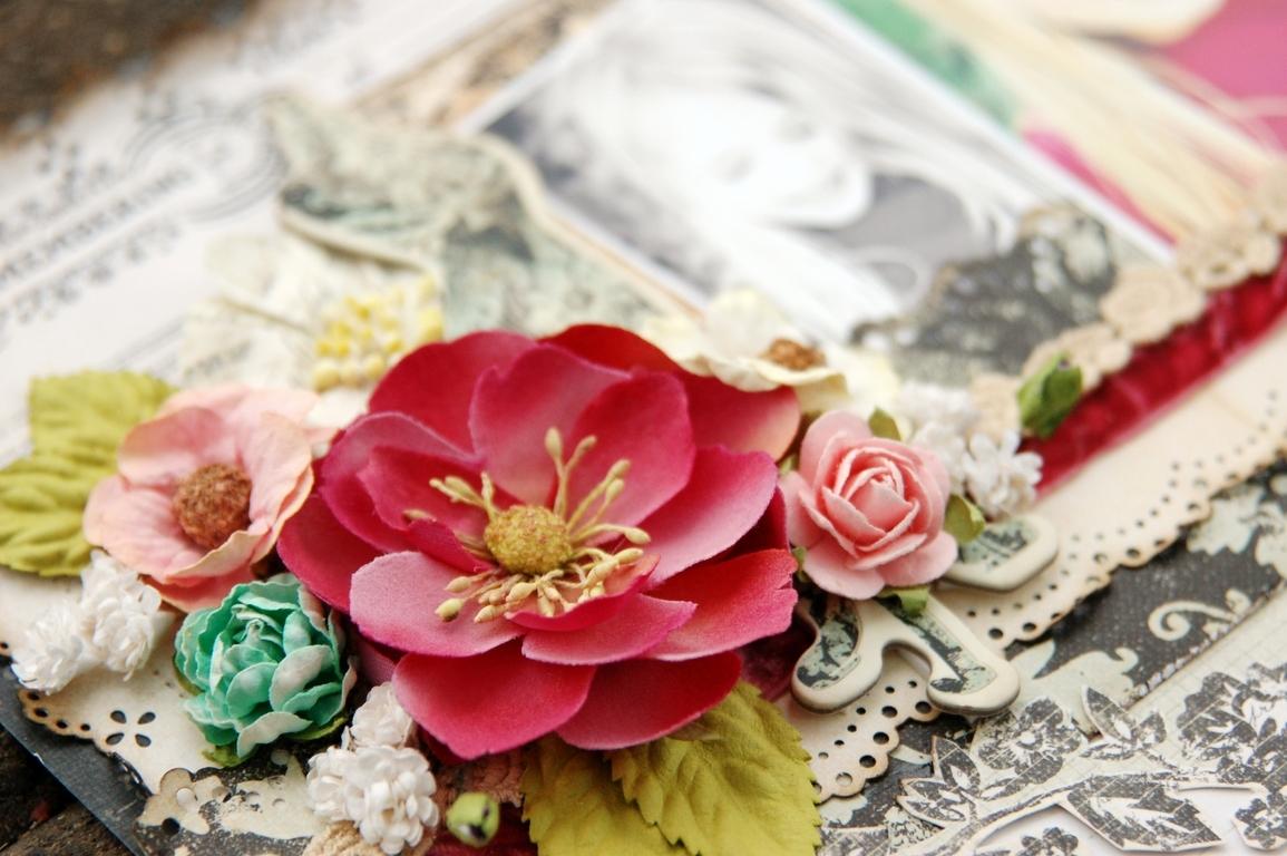 How to scrapbook flowers - Dsc_5821