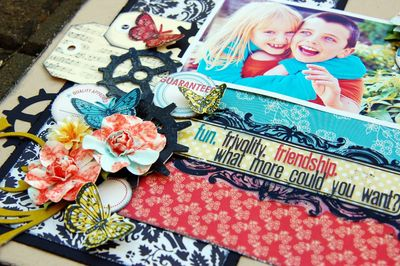 Fun Frivolity Friendship Textural