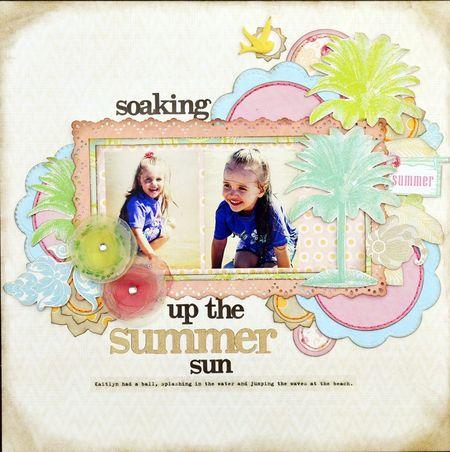 Soaking up the Summer Sun