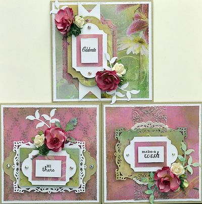 Perfectly Pink Cards