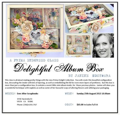 Delightful Album Box