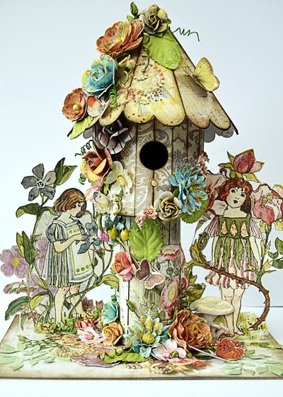 Fairy Garden Birdhouse (Copy)