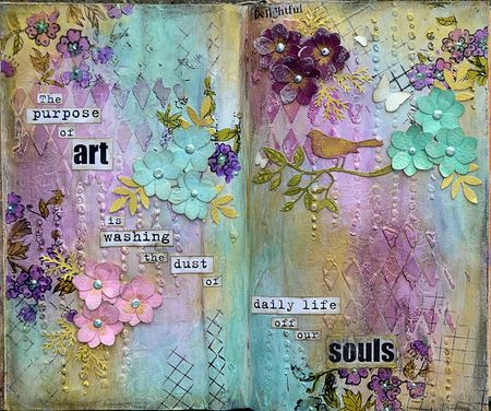 Mixed Media June Luminarte Silks