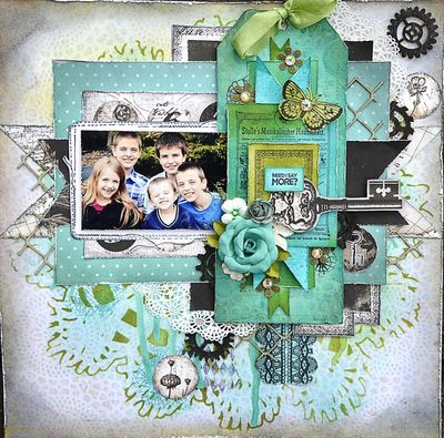 Teal Tag Layout
