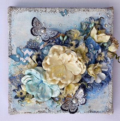 Beautiful Blue Canvas