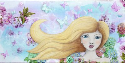 Windswept Girl 2