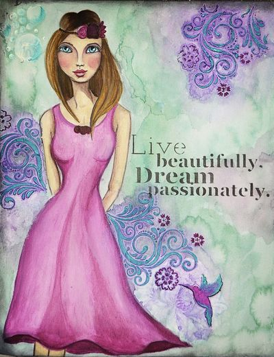 Live Beautifully Dream Passionately