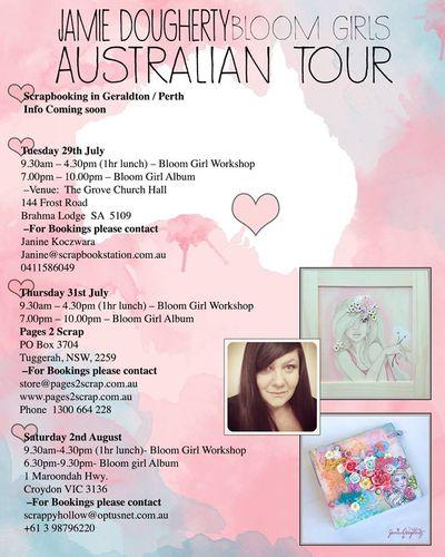 Australian Tour Jamie