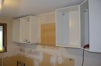 Cupboards going up